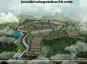 Jasa Desain 3d di Kamal Jakarta Barat