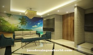 Jasa Desain 3d di HBR Motik Jakarta Pusat