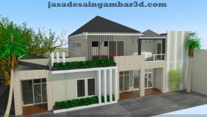 Jasa Desain Gambar 3d Kampung Rawa Johar Baru Jakarta Pusat