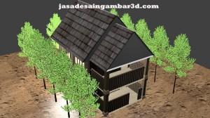 Jasa Desain 3d di Pondok Gede