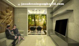 Jasa Desain 3d HBR Motik Jakarta Pusat