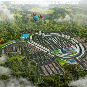 Jasa Desain 3d Taman Mini Jakarta Timur